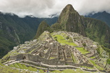 Machu Picchu  UNESCO World Heritage Site  Near Aguas Calientes  Peru  South America