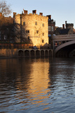 Lendal Tower and the River Ouse at Sunset  York  Yorkshire  England  United Kingdom  Europe