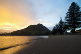 Mount Maunganui Sunset  Tauranga  North Island  New Zealand  Pacific