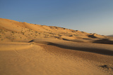 Wahiba Sand Dunes  Oman  Middle East