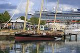 Spirit of Bermuda Sloop in the Royal Naval Dockyard  Sandys Parish  Bermuda  Central America