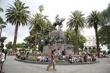 Plaza 9 Julio  the Main Square in Salta City  Argentina  South America