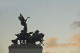 Detail of Wellington Arch  Hyde Park Corner  London  England  United Kingdom  Europe