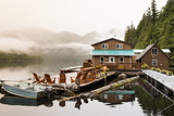 Great Bear Lodge  Great Bear Rainforest  British Columbia  Canada  North America