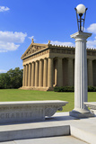 Parthenon in Centennial Park  Nashville  Tennessee  United States of America  North America