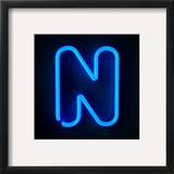 Neon Sign Letter N