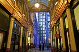 Leadenhall Market and Lloyds Building  London  United Kingdom  Europe
