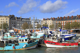 Fishing Fleet in Le Havre  Normandy  France  Europe