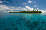 Little Islet in the Ant Atoll  Pohnpei  Micronesia  Pacific