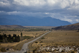 View over Ruta 40  Patagonia  Argentina  South America