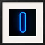 Neon Sign Letter I