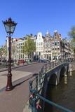 Keizersgracht Canal  Amsterdam  Netherlands  Europe