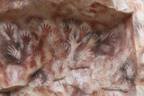 Cave Hand Paintings  Dated to around 550 BC Cueva De Las Manos  Argentina  March 2010