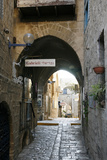 Alleys in the Old Jaffa  Tel Aviv  Israel  Middle East