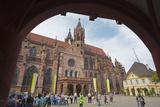 Freiburg Cathedral  Freiburg  Baden-Wurttemberg  Germany  Europe
