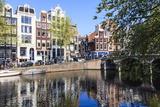 Singel Canal  Amsterdam  Netherlands  Europe