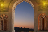 Sultan Quaboos Great Mosque  Muscat  Oman  Middle East