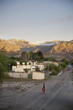 View over Molinos  Salta Province  Argentina  South America