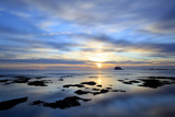 Bass Rock at Dawn  North Berwick  Scotland  UK  August 2020Vision Book Plate