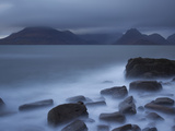 View Towards Cuillin Range from Elgol Beach Skye  Scotland  October