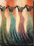 Dance of the Summer Solstice Tableau sur toile par Monica Stewart