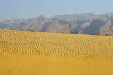 Sand Dunes at Sunset  Maspalomas Beach  Gran Canaria  Canary Islands  Spain  December 2008
