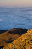 Crater of Pico Viejo - Chaorra Mountain (2 909M) from the Summit of Teide Volcano  Tenerife  Spain