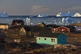 Coastal Settlement Houses  Saqqaq  Greenland  August 2009