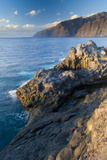 """The """"Gigantes""""  Sea Cliffs in the South of Tenerife  Canary Islands  Spain  December 2008"""