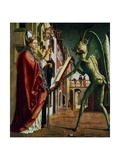 The Devil Presenting St Augustin with the Book of Vices