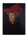 Man in a Red Turban (Formerly Self-Portrait)