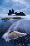 Wild Coast with Sea Stacks on a Stormy Day  Benijo  Anaga Peninsula  Tenerife  Spain