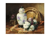 Still Life with an Urn and Mums