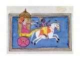 Arjuna and Krishna