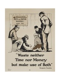 1920s YMCA Personal Finance Poster