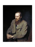 Portrait of the Writer Fyodor Dostoyevsky