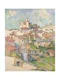 Vue de Gardanne Giclée par Paul Cézanne