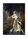 Louis XVI  King of France and Navarre  Wearing His Grand Royal Costume in 1779