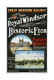 Great Western Railway Royal Windsor and Historic Eton Poster