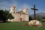 Mission Santa Barbara after 1996 Restoration