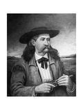 Painting of Wild Bill Hickok