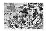 Illustration of the Hanging Gardens of Babylon