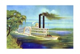 The Mississippi Steamboat Magnolia