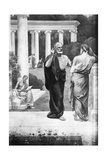 Plato Conversing with a Student at the Academy
