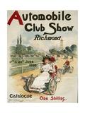Automobile Club Show  Richmond Poster