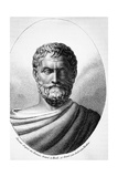 Portrait of Thales of Miletus