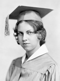 Young Woman High School Graduation Portrait  Ca 1931
