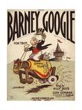 Barney Google Fox Trot Sheet Music Cover