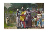 Dressing for the Carnival Giclée par Winslow Homer