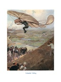 Otto Lilienthal Flying Glider